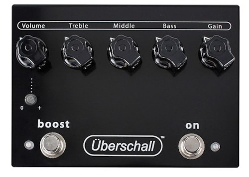 Bogner Ubershall Distortion Pedal Ubershall Distortion Pedal