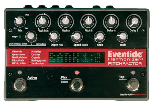 Eventide Pitch Factor Pitch Factor