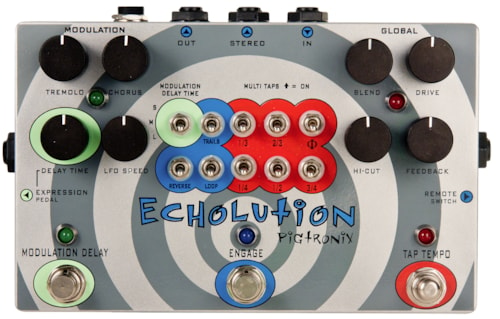 Pigtronix Echolution Delay Echolution Delay