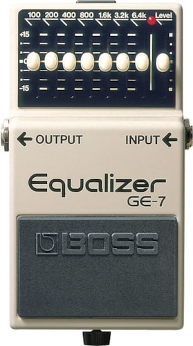 Boss GE-7 Graphic EQ GE-7 Graphic EQ