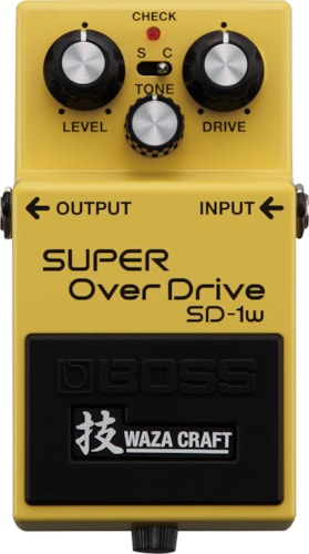 Boss SD-1W Super Overdrive Waza Craft SD-1W Super Overdrive Waza Craft