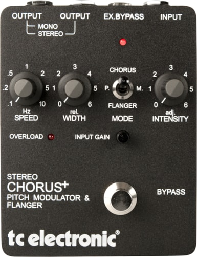 TC Electronic Stereo Chorus Flanger Stereo Chorus Flanger