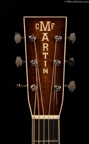 Martin Custom Shop 0-18 12-Fret Fiddleback Mahogany (962) Custom Shop 0-18