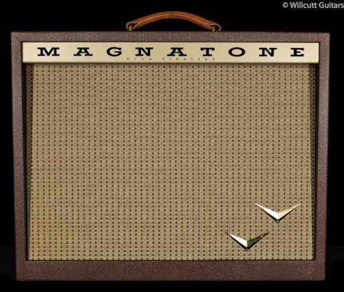 Magnatone Panoramic Stereo 2x10 Vintage Brown Panoramic Stereo 2x10