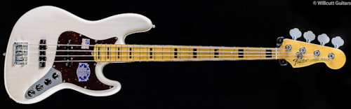Fender® American Deluxe Jazz Bass® White Blonde, Maple (256) American Deluxe Jazz Bass®