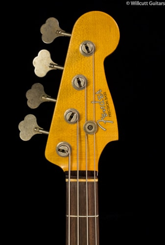 Fender® Custom Shop 1959 Journeyman Presicion Bass Faded 3-Tone Sunburst (242) Custom Shop 1959 Journeyman Presicion Bass