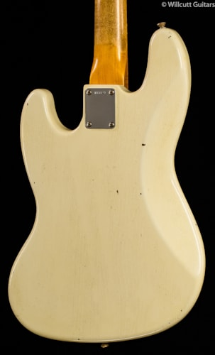 Fender® Custom Shop 1960 Journeyman Jazz Bass® Aged Olympic White (873) Custom Shop 1960 Journeyman Jazz Bass®