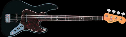 Fender® '60s Jazz Bass® Black, Rosewood 60s Jazz Bass®