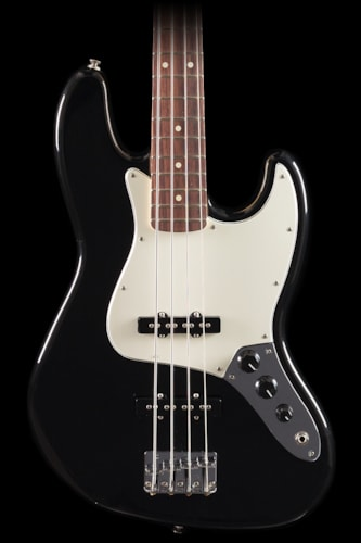 Fender® Standard Jazz Bass® Black, Rosewood (392) Fender® Standard Jazz Bass® Black, Rosewood (392)