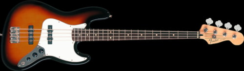 Fender® Standard Jazz Bass® Brown Sunburst, Rosewood Standard Jazz Bass®