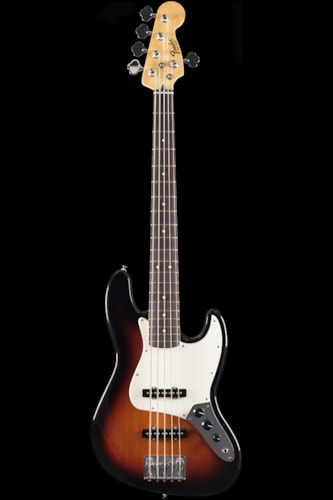 Fender® Standard Jazz Bass® V Brown Sunburst, Rosewood (044) Standard Jazz Bass®