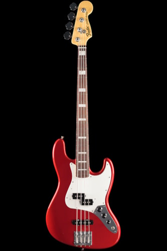 Fender® Vintage Hot Rod '70s Jazz Bass® Candy Apple Red, Rosewood (221) Vintage Hot Rod '70s Jazz Bass®