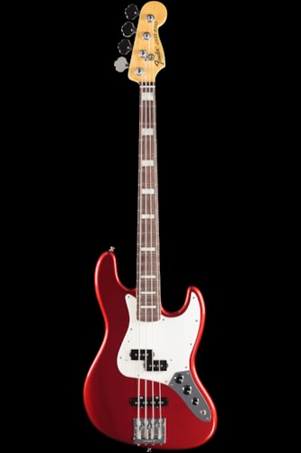 Fender® Vintage Hot Rod '70s Jazz Bass® Candy Apple Red, Rosewood (419) Vintage Hot Rod '70s Jazz Bass®