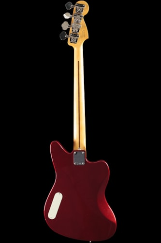 Fender® Pawn Shop Reverse Jaguar® Bass Candy Apple Red, Maple Pawn Shop Reverse Jaguar® Bass