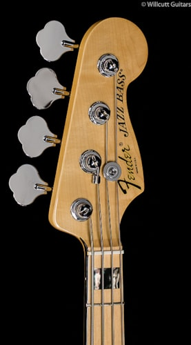 Fender® American Deluxe Jazz Bass® White Blonde, Maple (555) American Deluxe Jazz Bass®