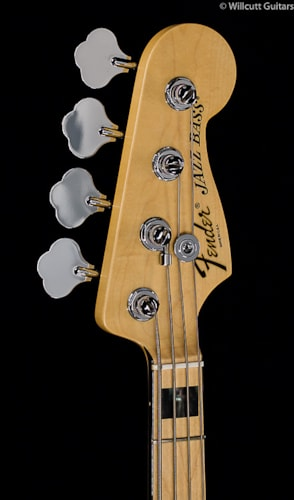 Fender® American Deluxe Jazz Bass® White Blonde, Maple (995) American Deluxe Jazz Bass®