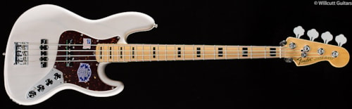 Fender® American Deluxe Jazz Bass® White Blonde, Maple (988) American Deluxe Jazz Bass®
