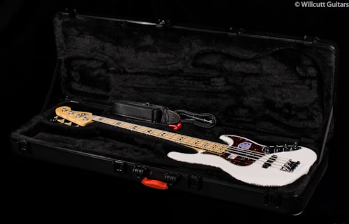 Fender® American Deluxe Jazz Bass® White Blonde, Maple (451) American Deluxe Jazz Bass®