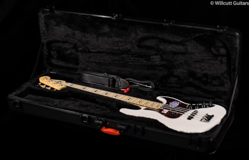 Fender® American Deluxe Jazz Bass® White Blonde, Maple (601) American Deluxe Jazz Bass®