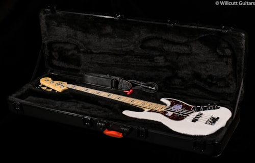 Fender® American Deluxe Jazz Bass® White Blonde, Maple (447) American Deluxe Jazz Bass®