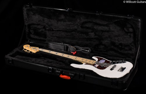 Fender® American Deluxe Jazz Bass® White Blonde, Maple (805) American Deluxe Jazz Bass®