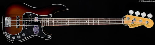 Fender® American Deluxe Precision Bass® Rosewood 3-Color Sunburst (971) American Deluxe Precision Bass®