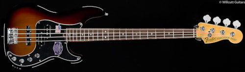 Fender® American Deluxe Precision Bass® Rosewood 3-Color Sunburst (976) American Deluxe Precision Bass®