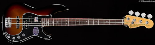 Fender® American Deluxe Precision Bass® Rosewood 3-Color Sunburst (057) American Deluxe Precision Bass®