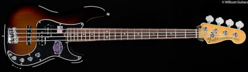 Fender® American Deluxe Precision Bass® Rosewood 3-Color Sunburst (350) American Deluxe Precision Bass®