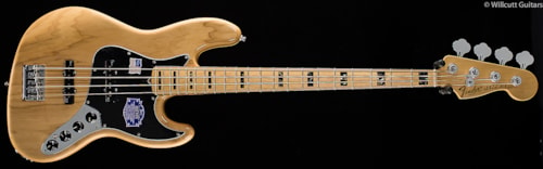 Fender® American Deluxe Jazz Bass® Ash, Natural (277) American Deluxe Jazz