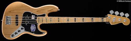 Fender® American Deluxe Jazz Bass® Ash, Natural (445) American Deluxe Jazz