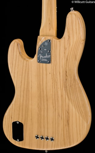 Fender® American Deluxe Jazz Bass® Ash, Natural (441) American Deluxe Jazz