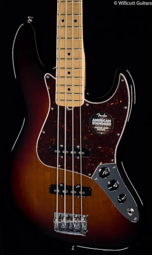Fender® American Standard Jazz Bass® 3-Tone Sunburst, Maple (761) American Standard Jazz Bass®