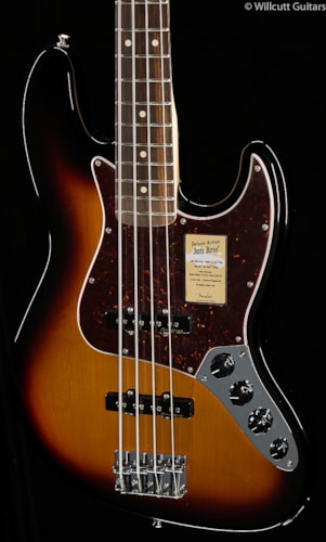 Fender® Deluxe Active Jazz Bass® Brown Sunburst (451) Deluxe Active Jazz Bass®