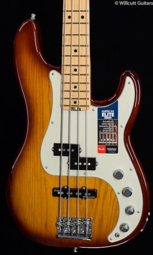Fender® American Elite Precision Bass® Tobacco Sunburst (305) American Elite Precision