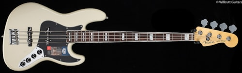 Fender® American Elite Jazz Bass® Olympic White (030) American Elite Jazz