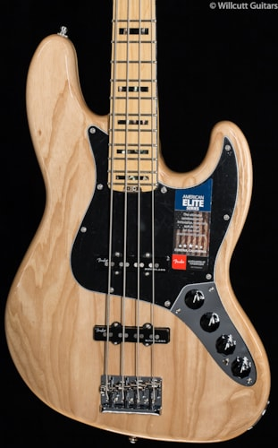 Fender® American Elite Jazz Bass® Natural (972) American Elite Jazz