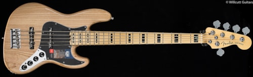 Fender® American Elite Jazz Bass® V Natural (369) American Elite Jazz