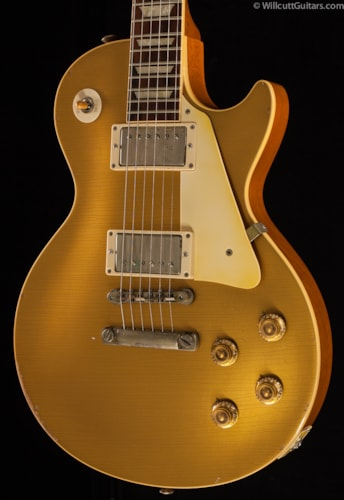 Gibson Custom Shop 1957 Les Paul Reissue Goldtop Underwood Aged (686) Custom Shop 1957 Les Paul Reissue