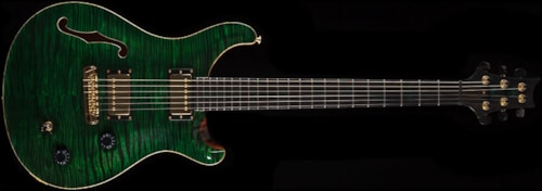 PRS Private Stock 1853 Custom 22 Semi-Hollow Malachite (781) Private Stock 1853 Custom 22 Semi-Hollow