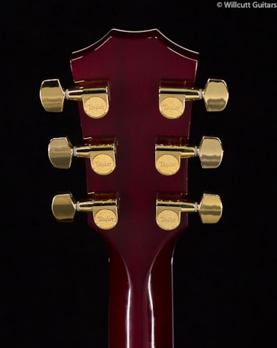 Taylor BTO #8723 T5z Quilt Maple Ruby Red Burst BTO #8723 T5z Quilt Maple