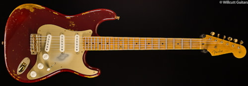 Fender® Custom Shop 1954 Heavy Relic® Stratocaster® Golden 50's Cimarron Red (431) Custom Shop 1954 Heavy Relic® Stratocaster®