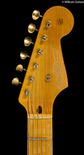 Fender® Custom Shop 1954 Heavy Relic® Stratocaster® Golden 50s Limited Cimarron Red (164) Custom Shop 1954 Heavy Relic® Stratocaster®