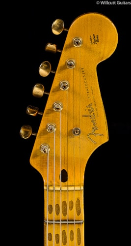 Fender® Custom Shop 1954 Heavy Relic® Stratocaster® Golden 50s Limited Cimarron Red (419) Custom Shop 1954 Heavy Relic® Stratocaster®
