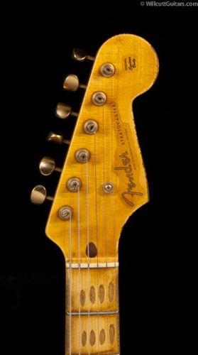 Fender® Custom Shop 1954 Heavy Relic® Stratocaster® Golden 50's Limited Two-Tone Sunburst (139) Custom Shop 1954 Heavy Relic® Stratocaster®