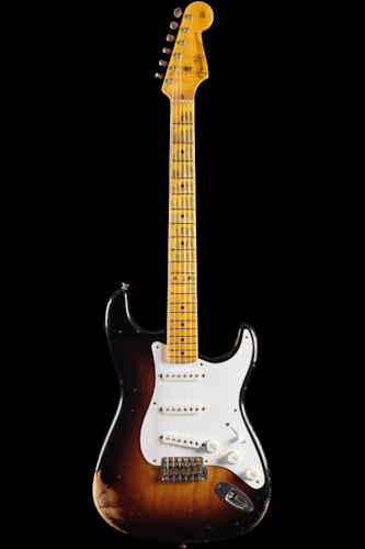Fender® Custom Shop 1954 Heavy Relic® Stratocaster® 2-Tone Sunburst Limited (685) Custom Shop 1954 Heavy Relic® Stratocaster®