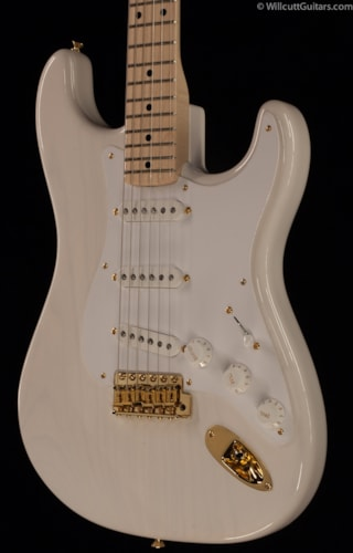 Fender® Custom Shop 1956 NOS Stratocaster® White Blonde Gold Hardware (458) Custom Shop 1956 NOS Stratocaster®
