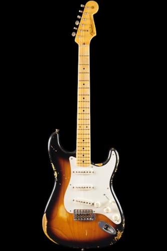 Fender® Custom Shop 1956 Stratocaster® Heavy Relic® 2-Tone Sunburst (148) Custom Shop 1956 Stratocaster®