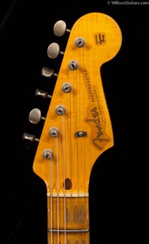 Fender® Custom Shop 1957 Stratocaster® Heavy Relic® Fiesta Red over 2TS (903) Custom Shop 1957 Stratocaster®