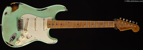 Fender® Custom Shop 1957 Stratocaster® Heavy Relic® Surf Green over 2TS (411) Custom Shop 1957 Stratocaster®
